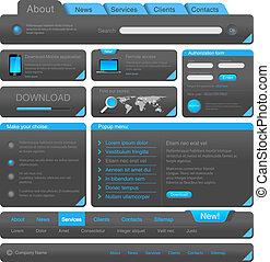 웹 디자인, 성분, collection.