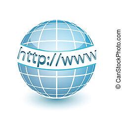 웹, http, www, 지구, 인터넷