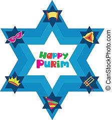 유대인의 휴일, 물건, 별, david