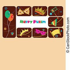유태인, 행복하다, 휴일, purim