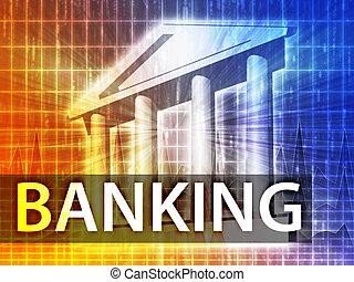 은행업의, 삽화