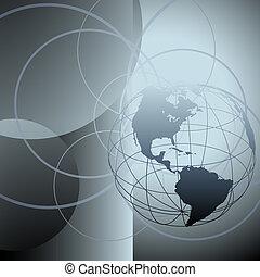 은 돌n다, 지구 지구, 세계, 떼어내다