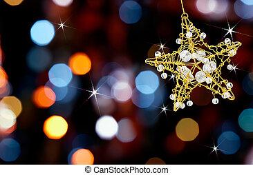 은 점화한다, 별, 크리스마스