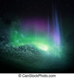 은 점화한다, (aurora), 북부 사투리