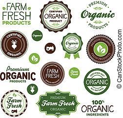음식, 상표, 유기체의