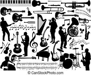 음악, elements.