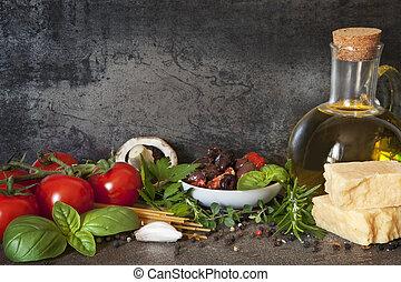 이탈리아어, 배경, 음식