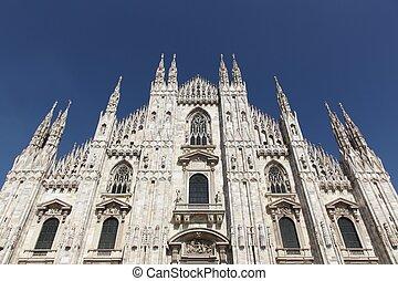이탈리아, 대성당, milan