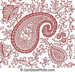 인도 사람, 패턴, 직물