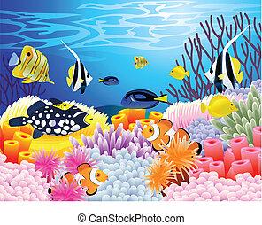 인생, 바다, 배경