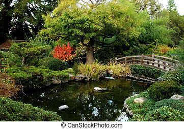 일본어, bri, 정원