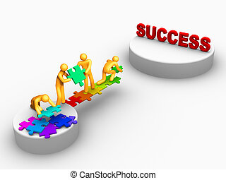 일, 성공, 팀