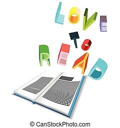 읽다, 사랑