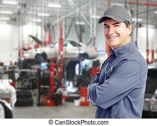 자동차, mechanic.