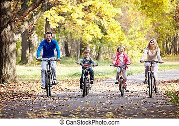 자전거, 가족