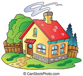 작은 집, 가족
