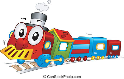 장난감 기차, 마스코트