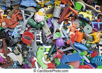 장난감, 늙은, 잊는, 지리멸렬의