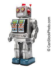 장난감 로봇, 주석