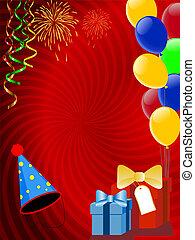 장식, 휴일, ballons