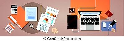 재정, 종이, 보이는 상태, 정제, 정상, 컴퓨터, 그래프, 각, 휴대용 퍼스널 컴퓨터, 보고서, 문서, 작업환경, 책상