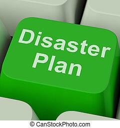 재해, 긴급 사태, 보호, 계획, 열쇠, 위기, 쇼