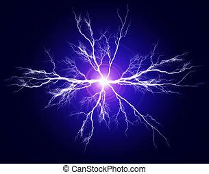 전기, 학문 따위 순수한, 힘