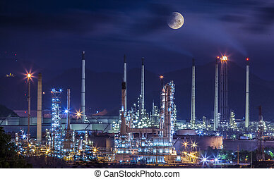 정련소, 산업 공장