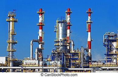 정련소, 석유 화학 제품, 기름, 식물