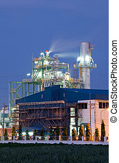 정련소, 식물, 석유 공업, 보일러