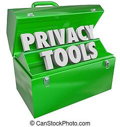 정보, 은둔, 물건과 구별하여 사람의, 자료 보호, 도구, 자원