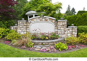 정원, 평화로운