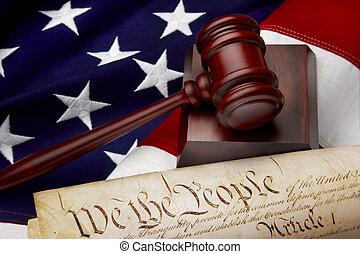 정의, 미국 영어, 정물