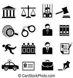 정의, 법률이 지정하는, 법, 아이콘