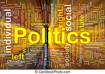 정치, 백열하는 것, 개념, 배경, 친목회