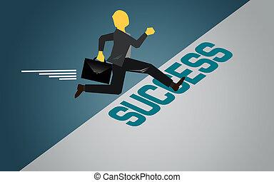 족답, 성공, 지역