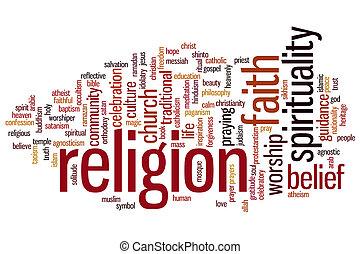 종교, 낱말, 구름
