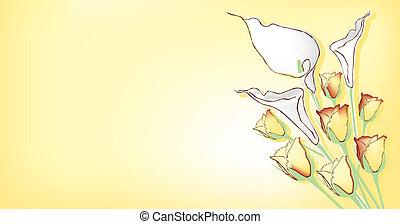 주제, 꽃