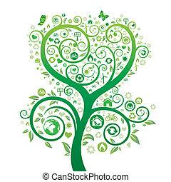 주제, 자연, 환경, 디자인