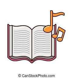 주, 책, 열려라, 뮤지컬, 아이콘