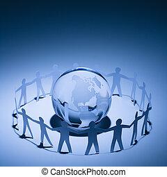 지구, 사람, 채택하는 것