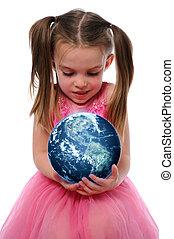 지구, 소녀, 보유