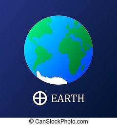 지구, 아이콘, 지구