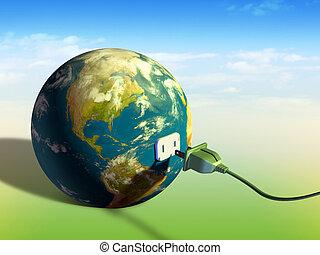 지구, 에너지