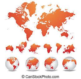 지도, 세계