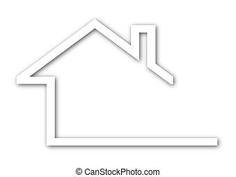 지붕, 집, 박공
