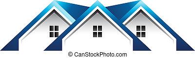 지붕, 집