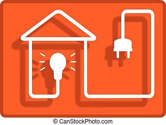 집, 상징, 점화