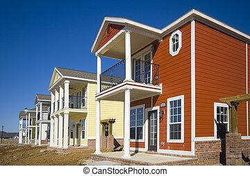집, 새로운, 건설, 억압되어