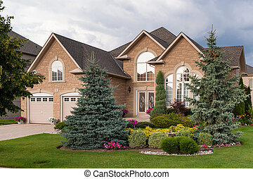 집, 습관, 사치, 건축되는